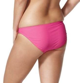 Xhilaration Junior's Hipster Swim Bottom -Pink