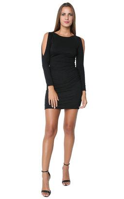 Velvet Fantasia Dress Black