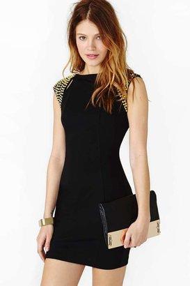 Nasty Gal Futura Dress - Black