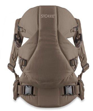 Stokke MyCarrier: 3-in-1 Multi-Use Baby Carrier in Brown