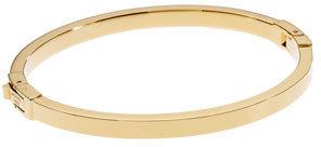 Michael Kors Golden Skinny Hinge Bangle