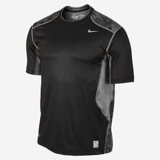 Camo Nike Pro Combat Hypercool Fitted Grid Men's T-Shirt