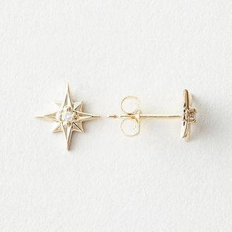 Erica Weiner 1909 BY north star earrings with diamond