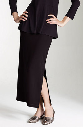 J. Jill Wearever long side-slit skirt