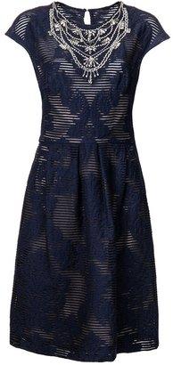 Lela Rose striped dress