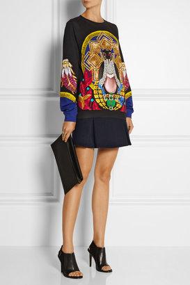 Mary Katrantzou Printed French terry sweatshirt