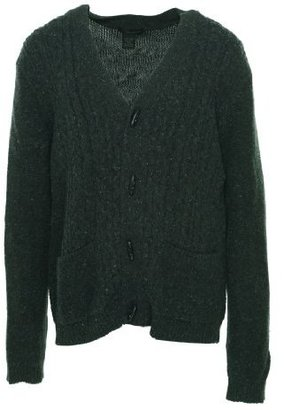 Calvin Klein Jeans Men's Toggle Cable Cardigan Sweater
