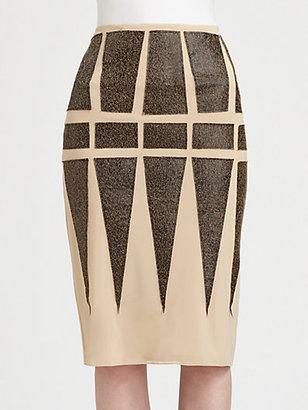 Fashion Star Pencil Skirt By Daniel Silverstein