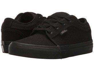 Vans Kids Chukka Low (Little Kid/Big Kid) (Blackout) Boys Shoes