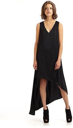 BCBGMAXAZRIA Avery V-Neck Dress