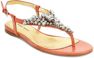 Nine West Shoes, Seahorse Flat Sandals