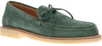 Opening Ceremony suede loafer