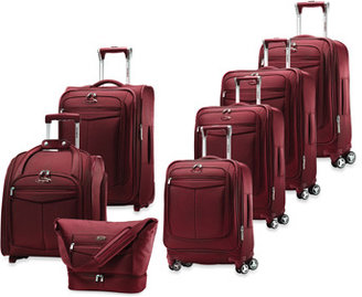 Samsonite Silhouette 12 Spinner Upright Luggage - Red