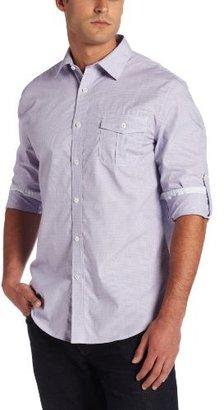 Geoffrey Beene Men's Brighton Check Classic Fit Long Sleeve Shirt
