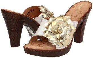 Børn Rozalia (White/Papaya Metallic) - Footwear