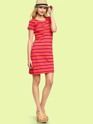 Gap Striped crewneck dress