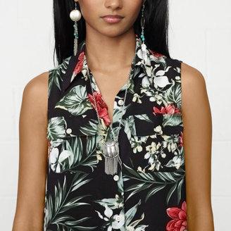 Denim & Supply Ralph Lauren Floral Island Shirtdress