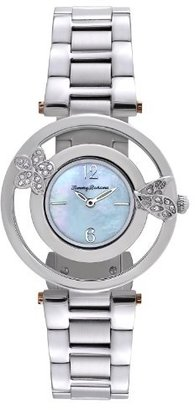 Tommy Bahama Swiss Women's TB4049 Bimini Starfish Round Mother-Of-Pearl Dial with Silver Tone Bracelet Watch $147.08 thestylecure.com