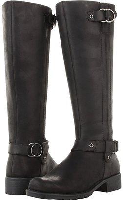 Clarks Orinocco Step (Black Oily Leather) - Footwear