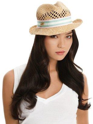 Juicy Couture Open Weave Fedora Hat