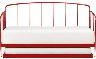 Crate & Barrel Rory Red Daybed with Trundle.