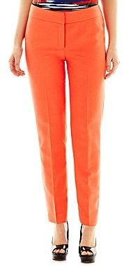 JCPenney 9 & Co.® Notch-Collar Jacket, Skinny-Leg Pants or Cowl Neck Knit Blouse