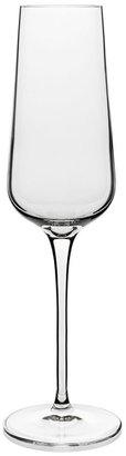 Luigi Bormioli Intenso Champagne Flute Glasses (Set of 4)