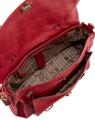 Proenza Schouler PS1 Large Satchel Bag, Red