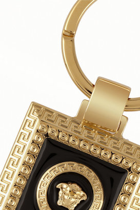 Versace Gold-plated keychain