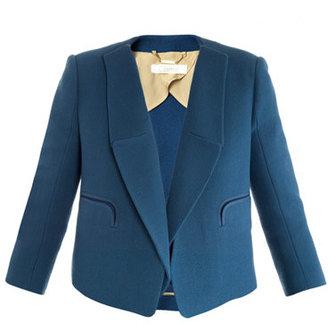 Chloé Santorini crepe-wool jacket