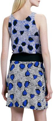Diane von Furstenberg Oblixe Cheetah-Print Dress