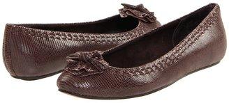 Antia Abella (Mocha Fine Lizard) - Footwear