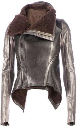 Rick Owens metallic jacket