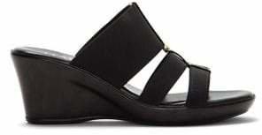 Italian Shoemakers Slip-On Wedge Sandals