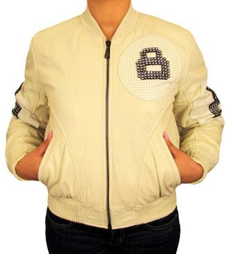 Knoles & Carter Knoles and Carter Women's 8-Ball Studded Jacket $104.99 thestylecure.com