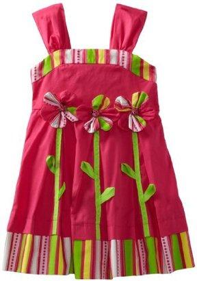 Bonnie Jean Girls 2-6X Appliqued Sundress
