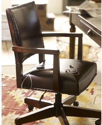Pottery Barn Manchester Swivel Desk Chair