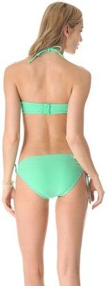 Shoshanna Charlotte Ronson for Mint Beaded Bikini Top