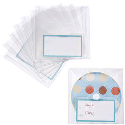 Container Store CD Envelopes
