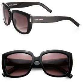 Saint Laurent Sqaure Acetate Sunglasses