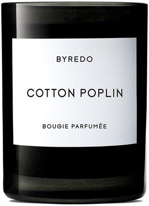 Byredo 8.5 oz. Cotton Poplin Bougie Parfumee Scented Candle