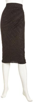 Yigal Azrouel Cut25 by Open-Knit Maxi Skirt, Eclipse
