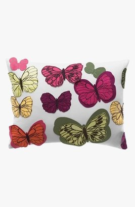 Kas Designs Chintz Butterfly Pillow (Online Only)