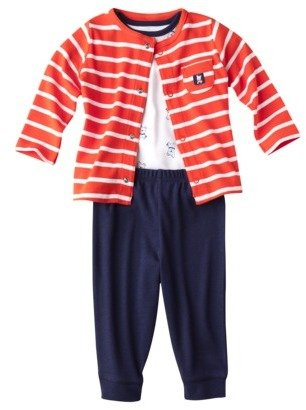 Carter's Just One YouTM by Newborn Boys' 3-Piece Set - Blue/Orange
