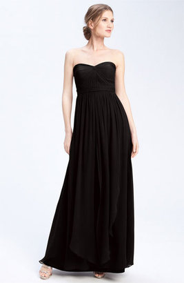 Jenny Yoo 'Aidan' Convertible Strapless Chiffon Gown $285 thestylecure.com