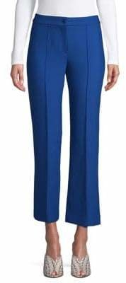 Theory Cardinal Cropped Wide-Leg Trousers