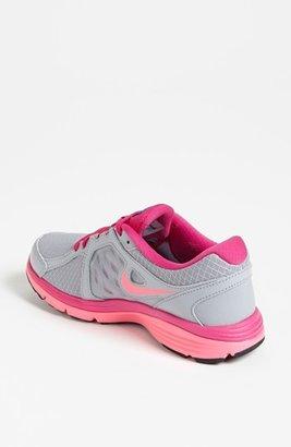 Nike 'Dual Fusion 3' Running Shoe (Women) Grey/ Pink 8 M