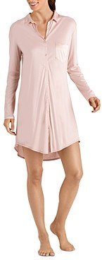 Hanro Grand Central Boyfriend Sleepshirt