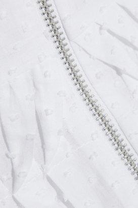 Kate Moss for Topshop Swiss-dot cotton dress