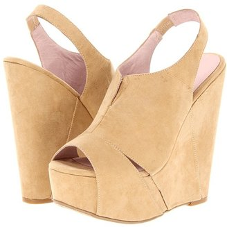 Chinese Laundry Jewel Tone (Nude Suede) - Footwear